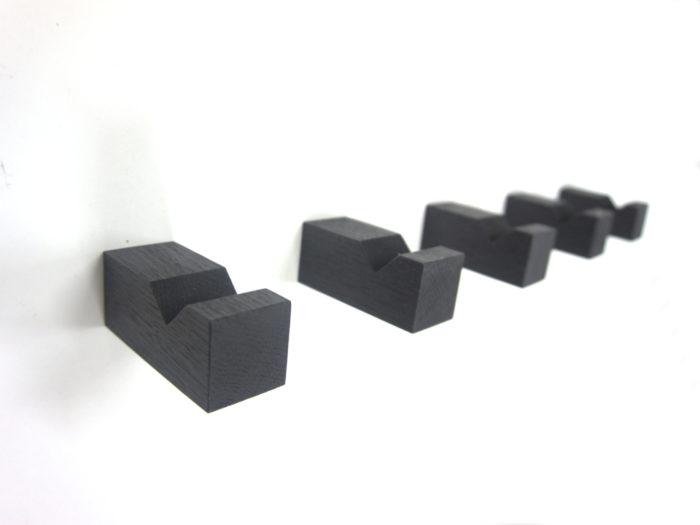 Muurhaak / kapstok eiken model FIX